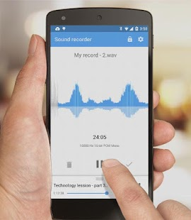 Recordr - Sound Recorder Pro- screenshot thumbnail