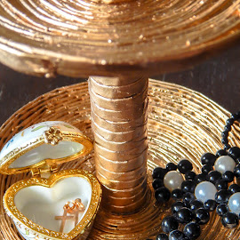 Jewelry  holder by Џони Кеш - Artistic Objects Jewelry ( holder, jewel, paper, jewelry )