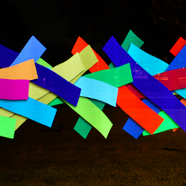 by Steve Friedman - Abstract Light Painting (  )