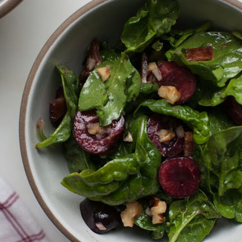 Cherry Spinach Salad