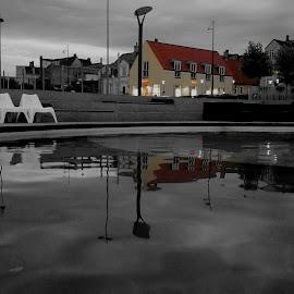 by Karl Erik Straarup - City,  Street & Park  Neighborhoods