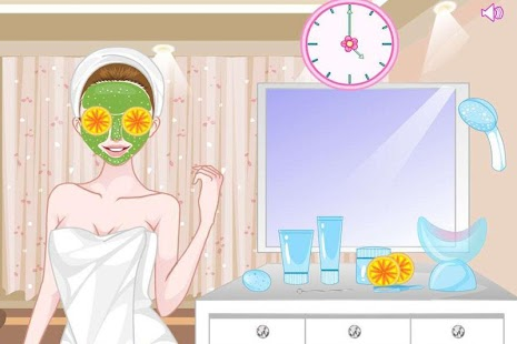 skin cleaner game - screenshot