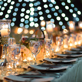 Details by Lodewyk W Goosen (LWG Photo) - Wedding Details ( cup, detail, wedding photographers, cups, decoration, knives and forks, galsses, cutlery, reception, table decorations, plates, details, wedding, weddings, wedding day, decorations, reception details, wedding details )
