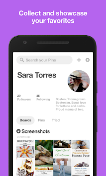 Pinterest APK screenshot thumbnail 4