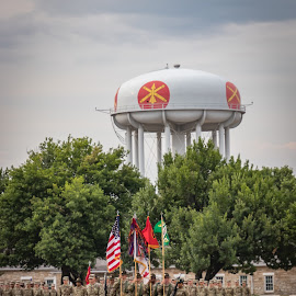 Ft Sill, Oklahoma by Kathy Suttles - City,  Street & Park  Historic Districts