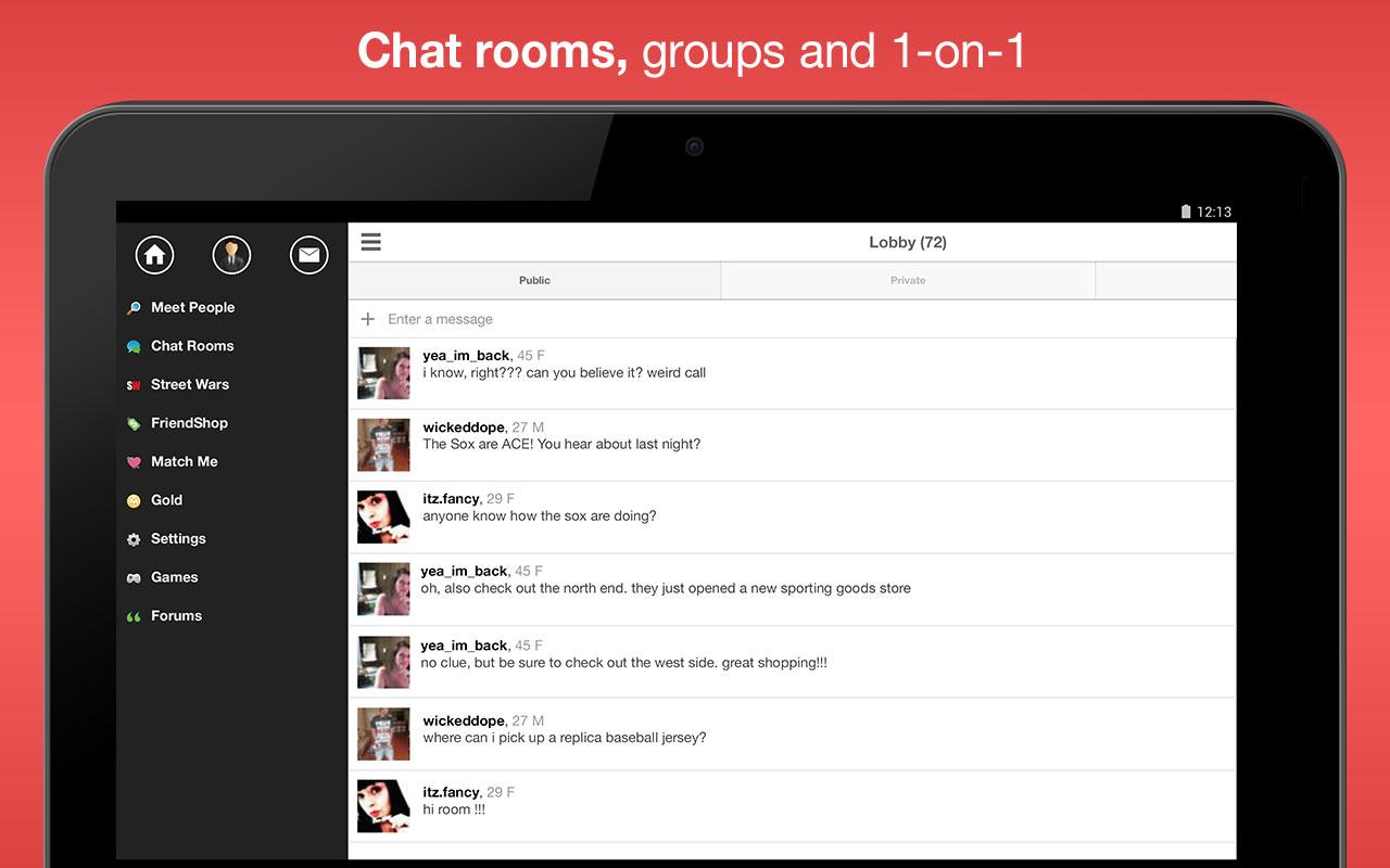 Moco+ - Chat, Meet People Screenshot 5
