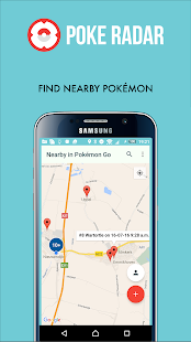 Poke Radar find Pokémon nearby- screenshot thumbnail