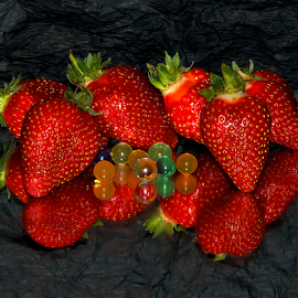 strawberrys on the mirror by LADOCKi Elvira - Food & Drink Fruits & Vegetables