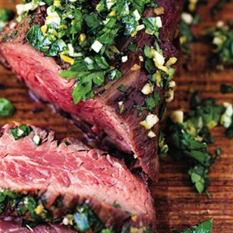 Hanger Steak with Gremolata