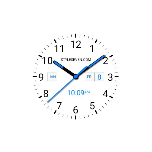 Analog Clock AW Plus-7