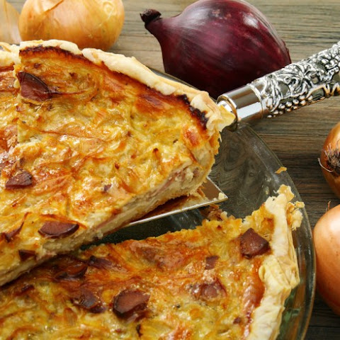 German Onion Pie