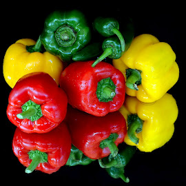 capsicum family by Asif Bora - Food & Drink Fruits & Vegetables