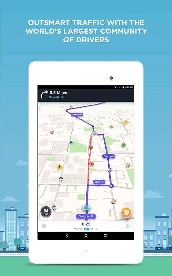 Waze - GPS, Maps & Traffic Screenshot 9