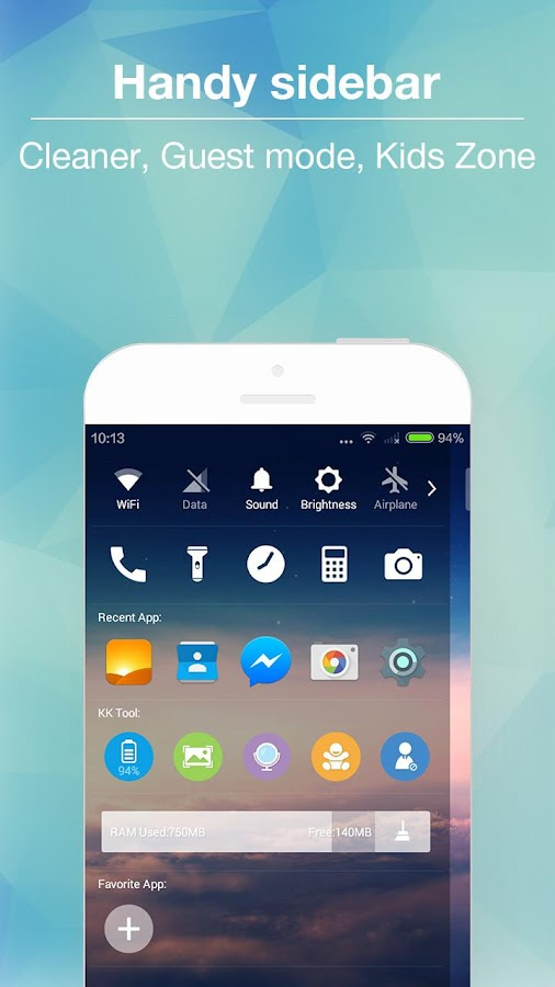 KK Launcher -Cool,Top launcher Screenshot 2