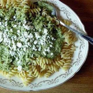 Velvety Broccoli and Feta Pasta
