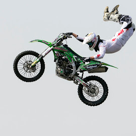Back Bending by Michael Roselt - Sports & Fitness Motorsports ( flying, offroad, fmx, motorcycle, freestyle )