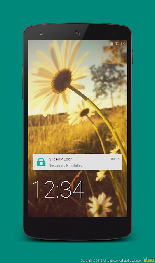 SlideUP Lock(lock screen) Screenshot 0