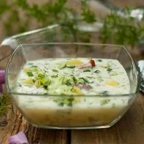 Okroshka In Cream