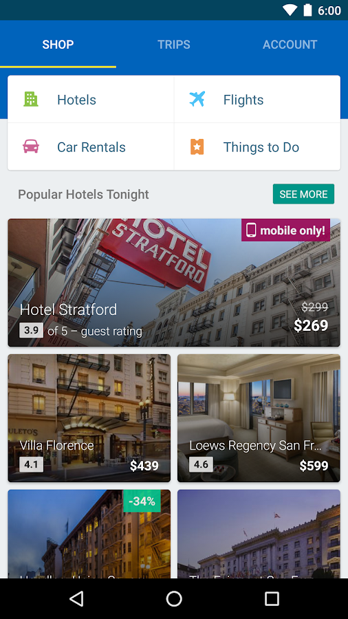 Expedia Hotels, Flights & Cars Screenshot 6