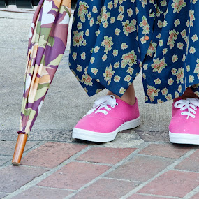 Pink Sneeks by Neal Kulick - People Fashion ( shoes )