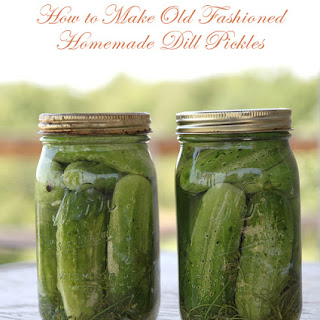 Old Fashion Refrigerator Dill Pickles