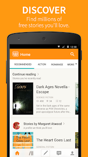 App Wattpad APK for Kindle
