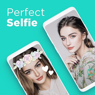 Candy Camera - selfie, beauty camera, photo editor for pc