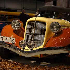 Yankee car show by Simo Järvinen - Transportation Automobiles ( car, indoor, automobile, show, transportation )