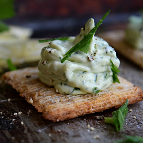 Fresh Cream Cheese Gremolata Hors D'oeuvres