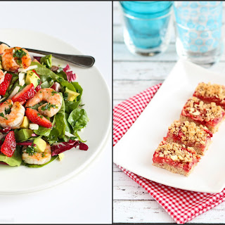 Strawberry & Quinoa Salad with Toasted Almonds