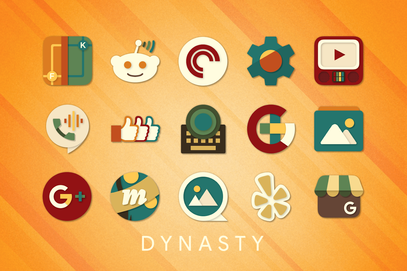 Dynasty Icon Pack Screenshot 5