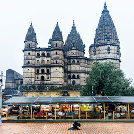 Chaturbujh Mandir, Orcha, MP by Amit Aggarwal - Buildings & Architecture Places of Worship ( temple, chaturbujh mandir, mp, orcha, india )