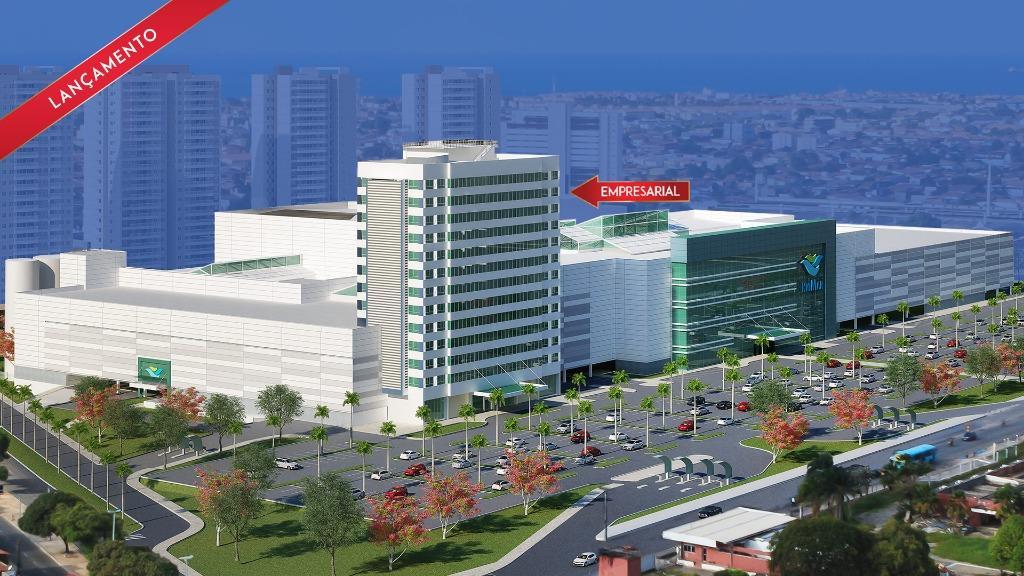 Sala à venda, 42 m² por R$ 413.410 - Presidente Kennedy - Fortaleza/CE