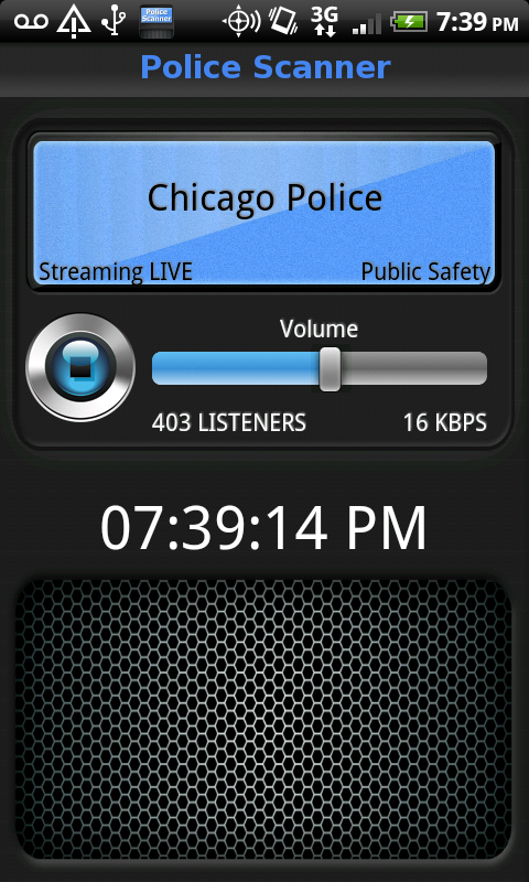Police Scanner Live Screenshot 2