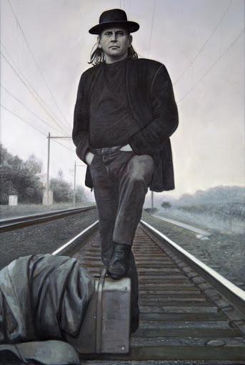 Harry Muskee - Olieverf op Canvas - 60 x 90 cm