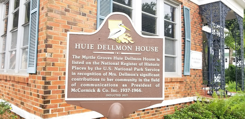 The Myrtle Groves Huie Dellmon House is listed on the National Register of Historic Places by the U.S. Park Service in recognition of Mrs. Dellmon's significant contributions to her community in the ...