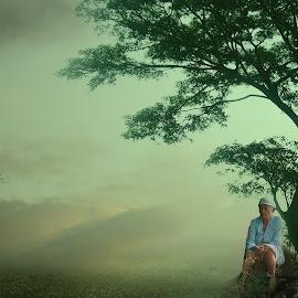 alone by Hendrique Avocado - Digital Art People
