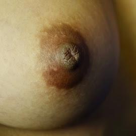 Breast by Kingkong Pang - Nudes & Boudoir Artistic Nude ( breast, woman breast, nipples, nipple, mature breast )