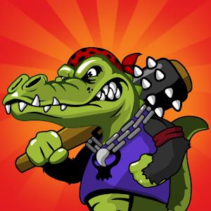 Cover art Wild Crocodile Adventure Saga