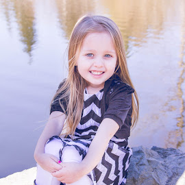 Mekayla by Jenny Hammer - Babies & Children Child Portraits ( outdoor, girl, cute, water, child )