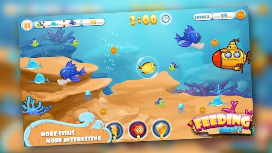 Download fish game feeding frenzy apk to pc download for Fish frenzy game