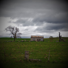 Old Barn by Sarah Harding - Novices Only Landscapes ( building, barn, novices only, architecture, landscape )