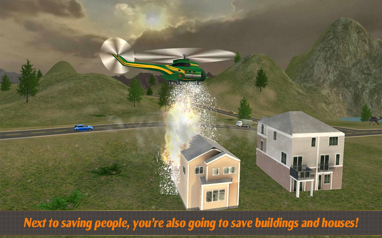 Helicopter Hill Rescue 2017 Screenshot 9