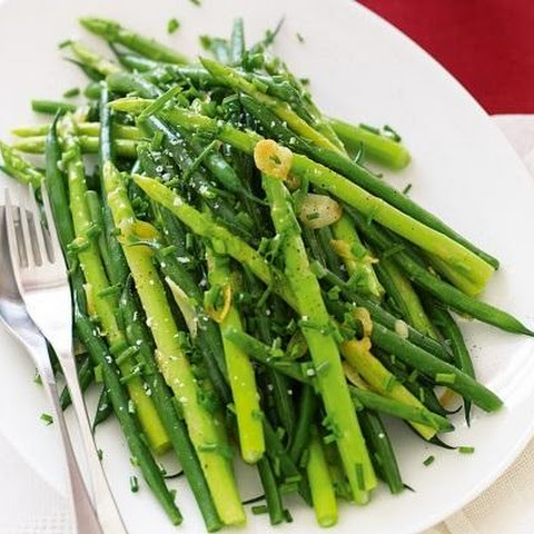 Sauteed Beans And Asparagus