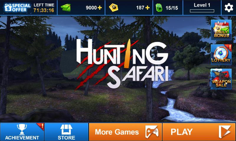 Hunting Safari 3D Screenshot 13