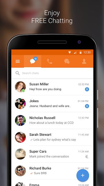 Nimbuzz Messenger / Free Calls screenshots