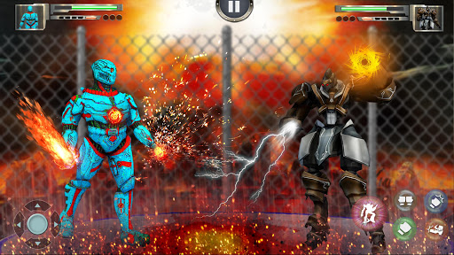 Real X-Ray Robot Fighting Game screenshot 1