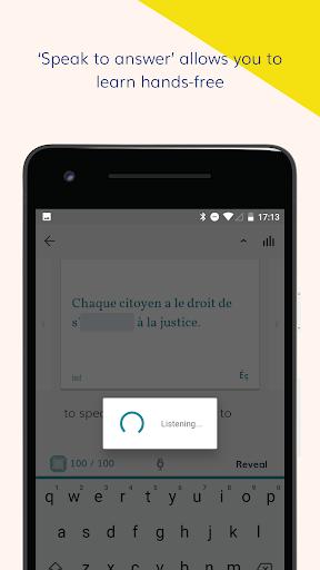 Lingvist: learn a language – fast screenshot 4