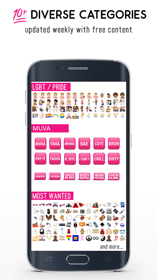 MuvaMoji - By Amber Rose Screenshot 2