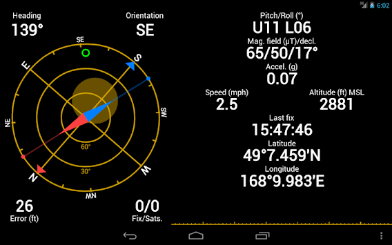 GPS Status & Toolbox APK screenshot thumbnail 9